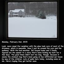 Monday, February 2nd, 2015