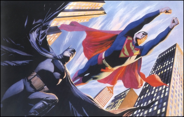 superman batman alex ross