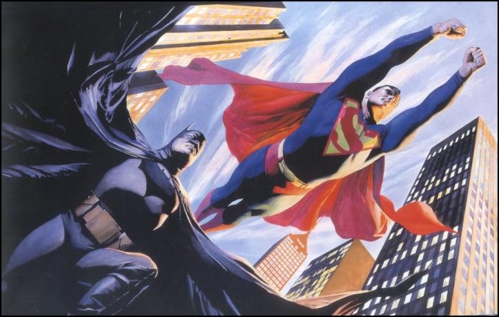 superman batman alex ross