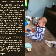 Thursday, February 5th, 2015