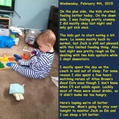 Wednesday, February 4th, 2015