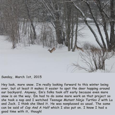 Sunday, March 1st, 2015