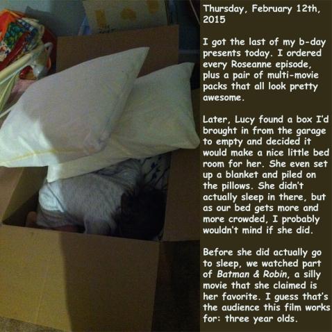 Thursday, February 12th, 2015