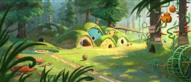 Tinker Bell and the Legend of the NeverBeast Concept Art_1