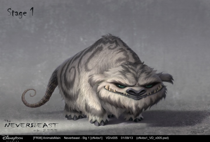 Tinker Bell and the Legend of the NeverBeast_Gruff_Concept Art