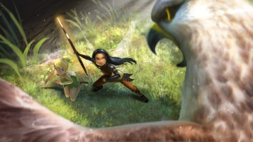 Tinker Bell and the Legend of the NeverBeast_NyxConflict Concept Art