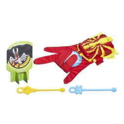 ultimate spider-man web spinners iron spider launcher