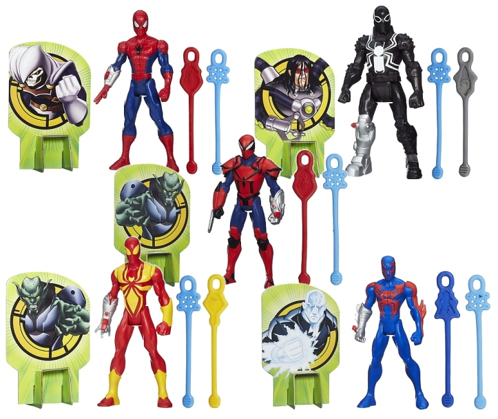 ultimate spider-man web spinners line up