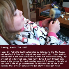 Tuesday, March 17th, 2015