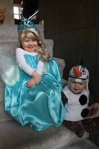 lu and jack frozen halloween