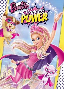 princess power barbie dvd