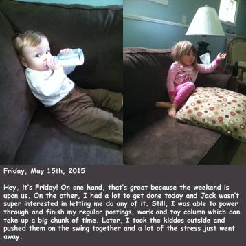 Friday, May 15th, 2015