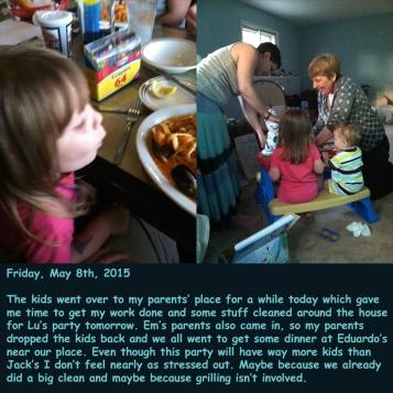 Friday, May 8th, 2015