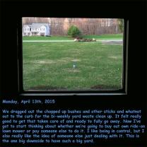 Monday, April 13th, 2015
