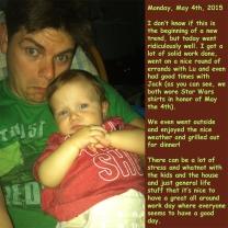 Monday, May 4th, 2015