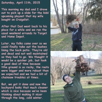 Saturday, April 11th, 2015