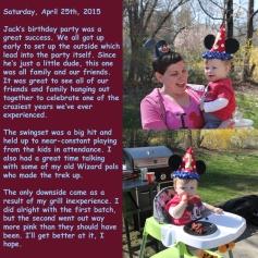 Saturday, April 25th, 2015