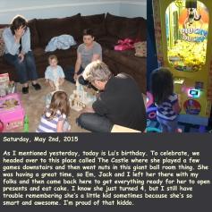 Saturday, May 2nd, 2015