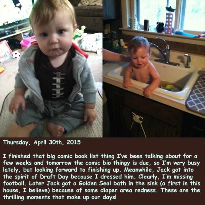 Thursday, April 30th, 2015