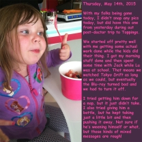 Thursday, May 14th, 2015