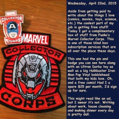 Wednesday, April 22nd, 2015