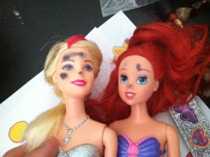 blemished barbies