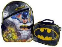 Fast Forward Inc. Batman Backpack with Lunch Ki