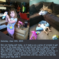 Saturday, June 13th, 2015