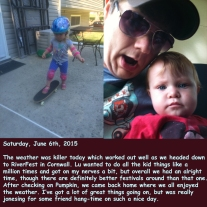 Saturday, June 6th, 2015