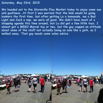 Saturday, May 23rd, 2015