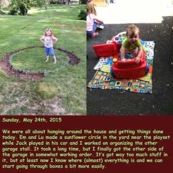 Sunday, May 24th, 2015