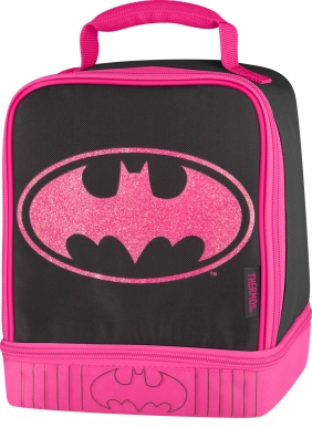 Thermos Batgirl Insulated Dual-Compartment Lunch Kit