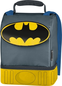 Thermos Batman Caped Insulated Dual-Compartment Lunch Kit