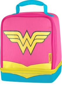Thermos Wonder Woman Insulated Dual-Compartment Lunch Kit