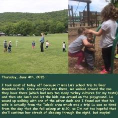 Thursday, June 4th, 2015