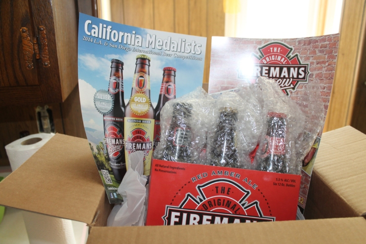 firemans brew package contents