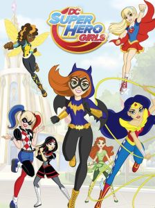 dc super hero girls cover