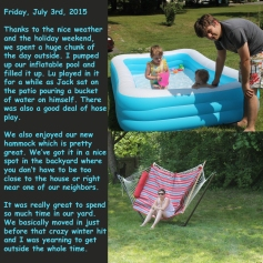 Friday, July 3rd, 2015
