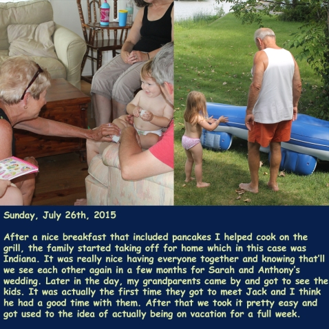 Sunday, July 26th, 2015