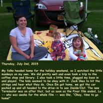 Thursday, July 2nd, 2015
