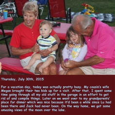 Thursday, July 30th, 2015