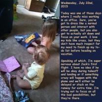Wednesday, July 22nd, 2015