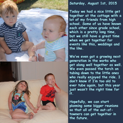 Saturday, August 1st, 2015