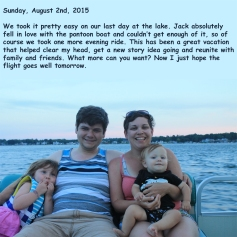 Sunday, August 2nd, 2015