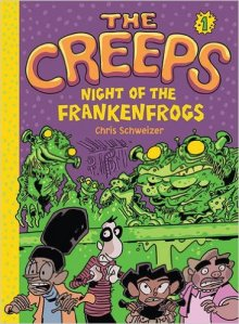 the creeps vol 1 night of the frankenfrogs