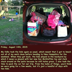 Friday, August 14th, 2015