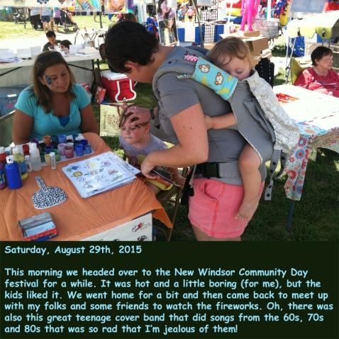Saturday, August 29th, 2015