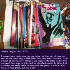 Sunday, August 23rd, 2015
