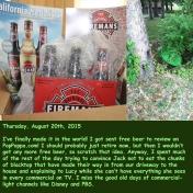 Thursday, August 20th, 2015