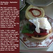 Wednesday, September 2nd, 2015